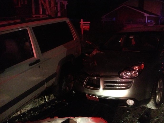 Drunk driver wreck