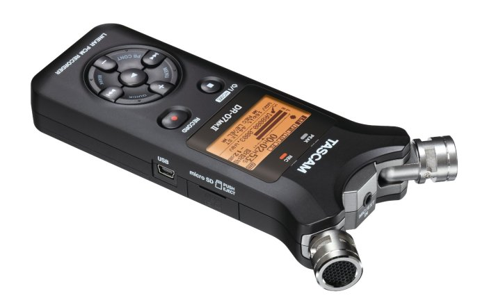 TASCAM DR-07MKII Portable Digital Recorder