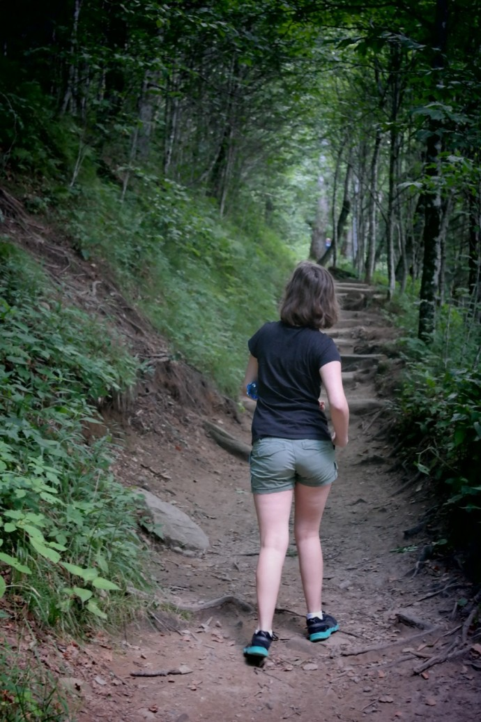 Fi hiking the Appalachian Trail