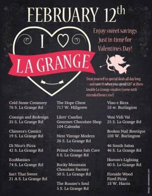 I ::heart:: La Grange event