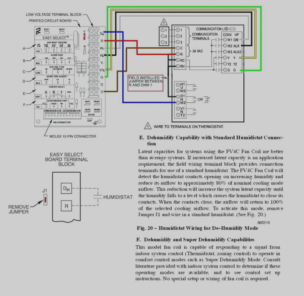 cooling only thermostat wiring diagram