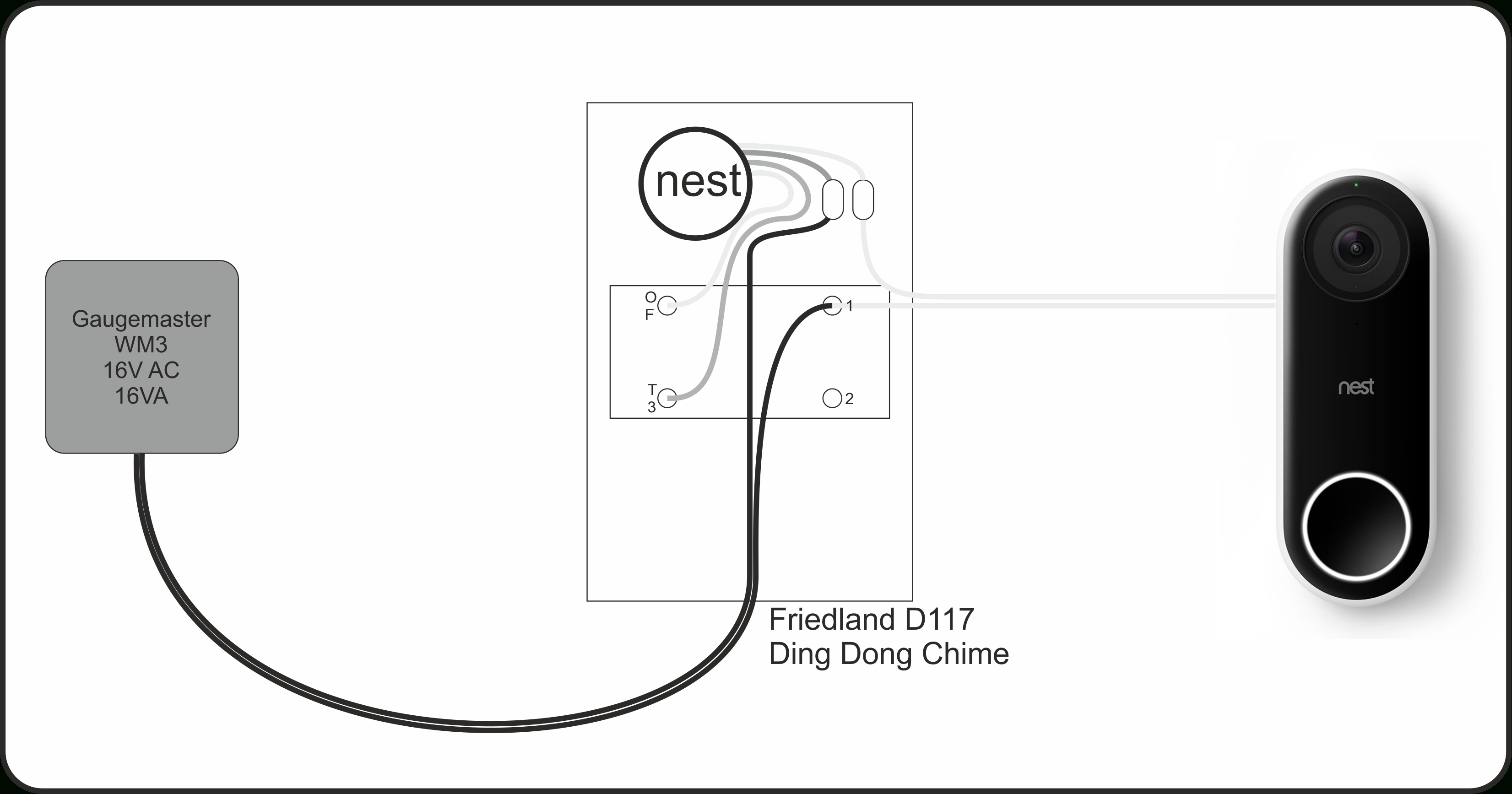 Wiring Diagram For Nest Hello