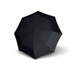 Vyriškas skėtis Knirps T200 Duomatic, juostuotas, išskleistas