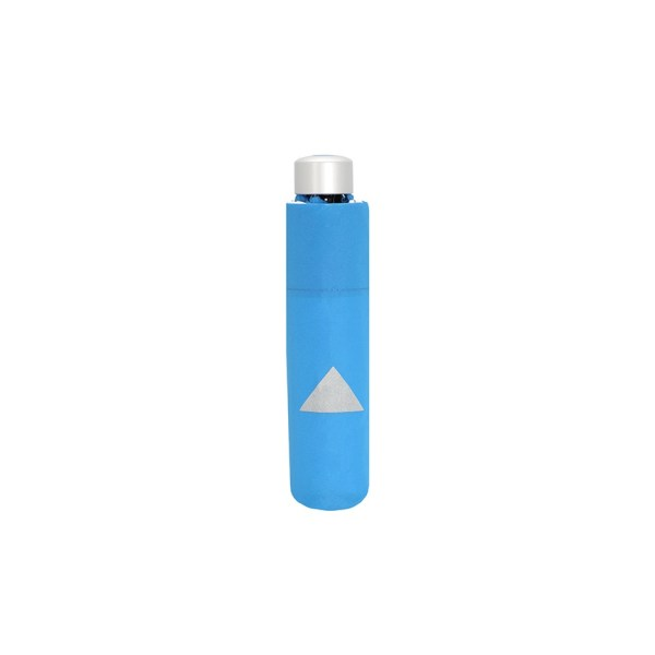 Vaikiškas skėtis Doppler Kids Reflex, mėlyna, su atšvaitu, suskleistas