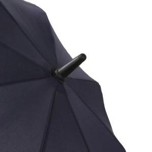 Unisex skėtis Doppler Fiber Move, mėlyna ir geltona, kupolo viršus
