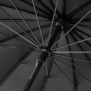 Unisex skėtis Doppler Natural London, antracito spalva, stipinai