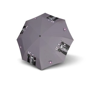 Moteriškas skėtis Doppler Fiber Royal Cats, išskleistas