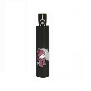 Moteriškas skėtis Doppler Fiber Kitty, suskleistas