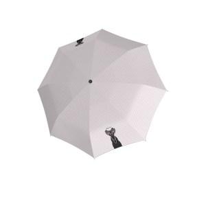 Moteriškas skėtis Doppler Fiber Lady Cats, išskleistas