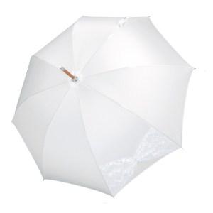 Vienetinis rankų darbo vestuvinis skėtis Mesh atidarytas