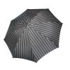 Vyriškas rankų darbo skėtis Doppler Manufaktur Ash Wood Orion atidarytas