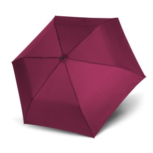 Unisex skėtis Doppler Zero Magic Royal Berry, satininė bordo, atidarytas