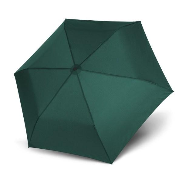 Unisex skėtis Doppler Zero Magic Evergreen, satino žalia