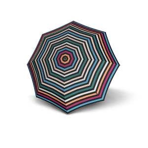Moteriškas skėtis Knirps X1, Flora Pastell atidarytas