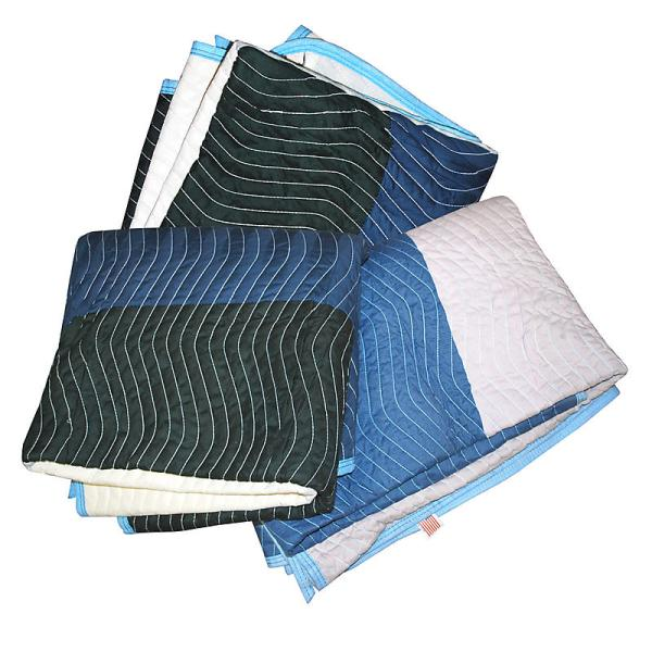 Multi Color Moving Blankets Dozen Shippers Supplies