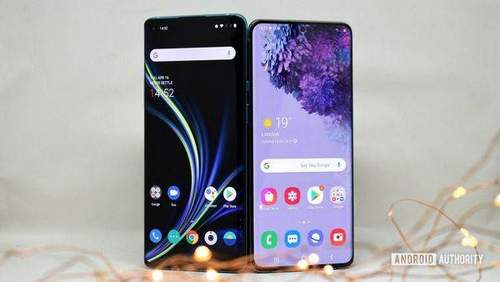 OnePlus 8 Pro против Samsung Galaxy S20 Plus Кто выигрывает Android Authority