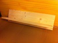 Kleines Regal, Wandregal schnell selbst gebaut.