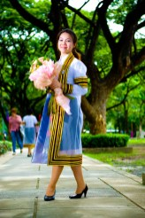 Graduation photo taken at Chulalongkorn University in Bangkok, Thailand.