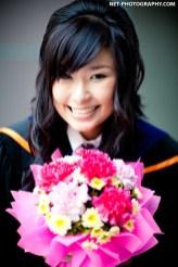 Graduation photo taken at Bangkok University in Bangkok, Thailand. ถ่ายภาพรับปริญญามหาวิทยาลัยกรุงเทพ