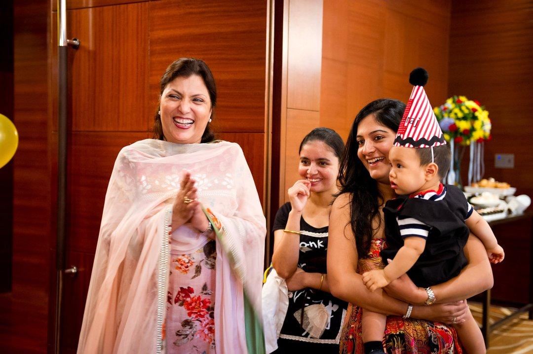 Dhev's 1st Birthday Party at Shangri-La Hotel in Bangkok Thailand | Bangkok Photography Service