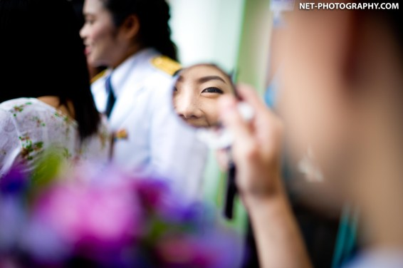Aim-on's Mahidol University Commencement Rehearsal Day at Royal Thai Navy Convention Hall.