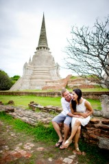 Thailand Ayutthaya Pre-Wedding Engagement - Thailand Wedding Photographer
