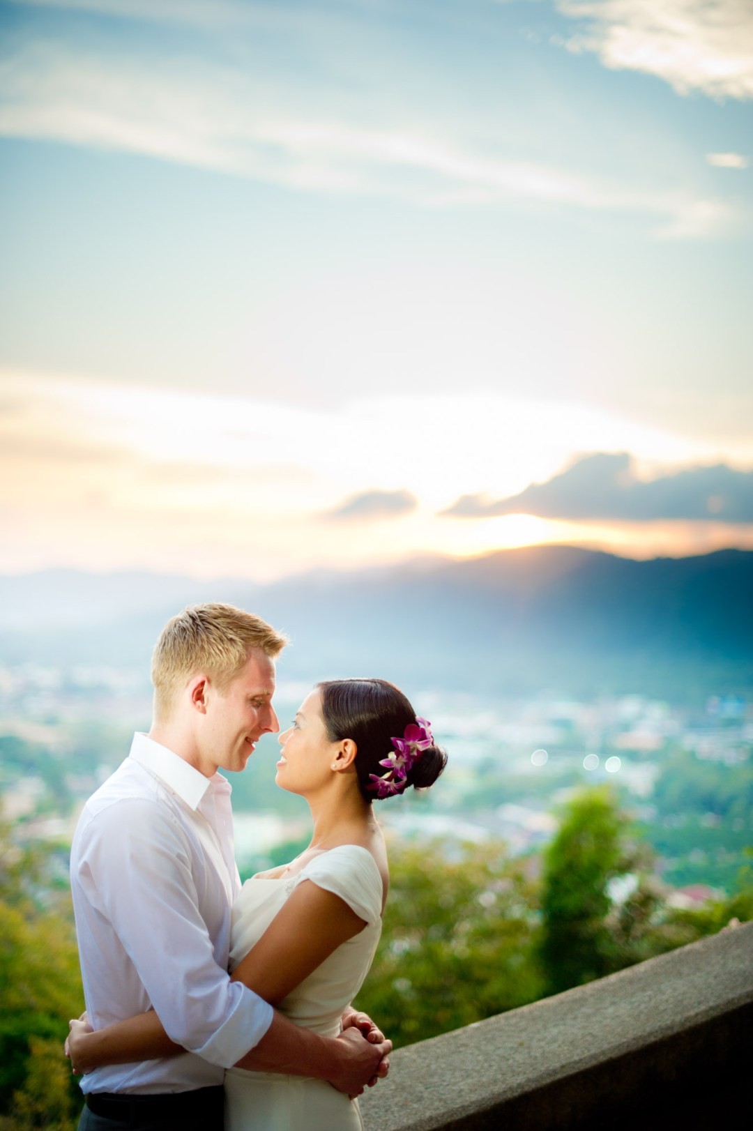 Phuket Wedding Photography | Rang Hill Viewpoint Pre-Wedding Photography