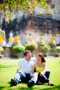 Thailand Wedding Photographer - Pre-Wedding - Bangkok & Ayutthaya Thailand