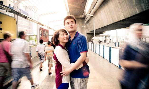 Pre-Wedding – Bangkok Thailand – Lingzi & Haifeng | ภาพคู่แต่งงาน ถ่ายในกรุงเทพ