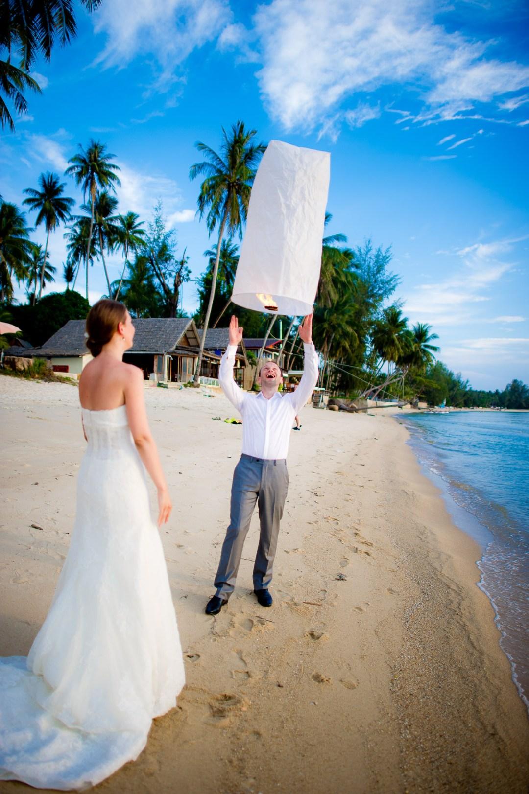 Thailand Wedding Photography | Dreams Villa Resort Koh Samui Wedding
