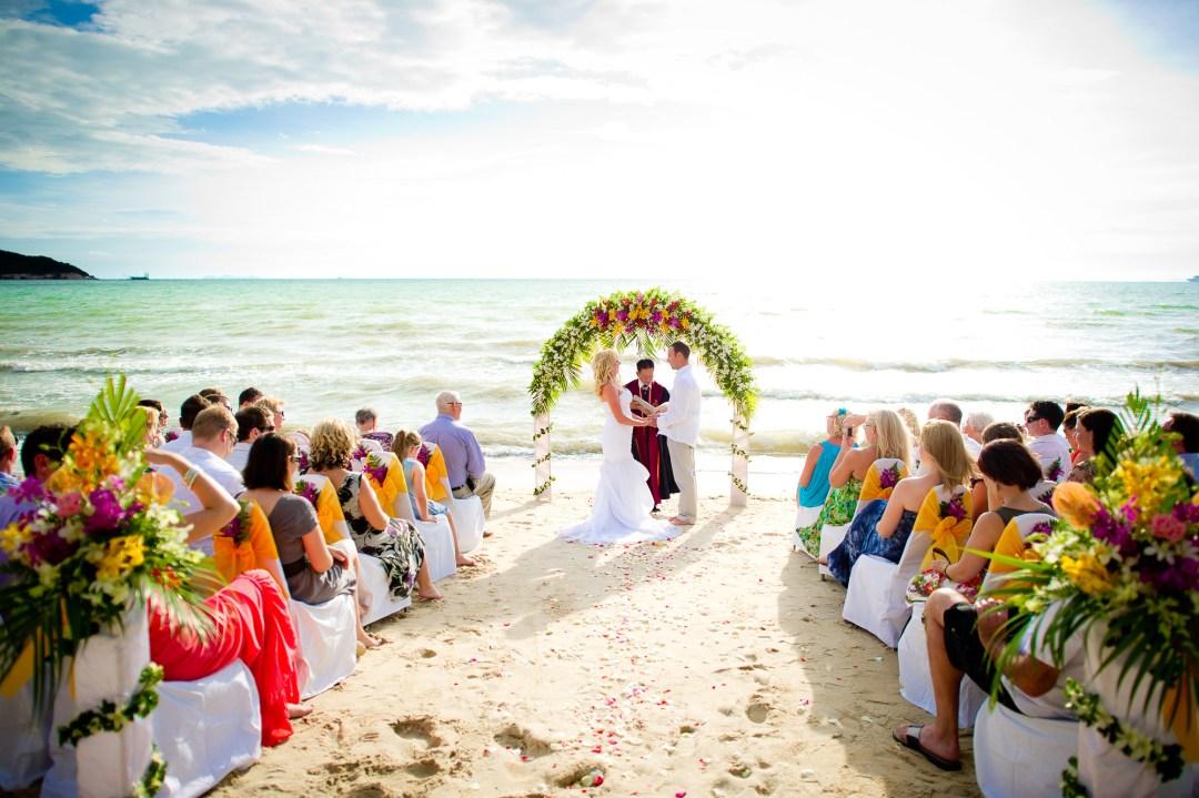 Koh Samui Wedding Photography   Lipa Lodge Beach Resort Wedding