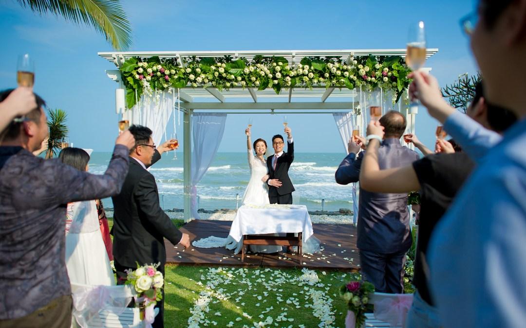 Aleenta Hua Hin Resort & Spa Wedding | ภาพแต่งงาน อลีนตา รีสอร์ท ปราณบุรี