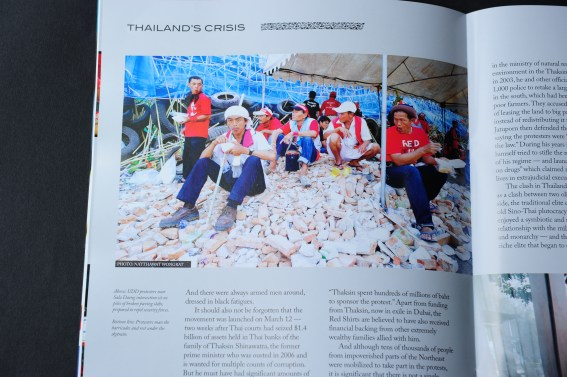 Tear Sheet from Dateline Magazine - Second Edition 2010 - Foreign Correspondents' Club of Thailand Magazine