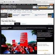 Screen capture of wsj.com (The Wall Street Journal) - 5 April 2010.