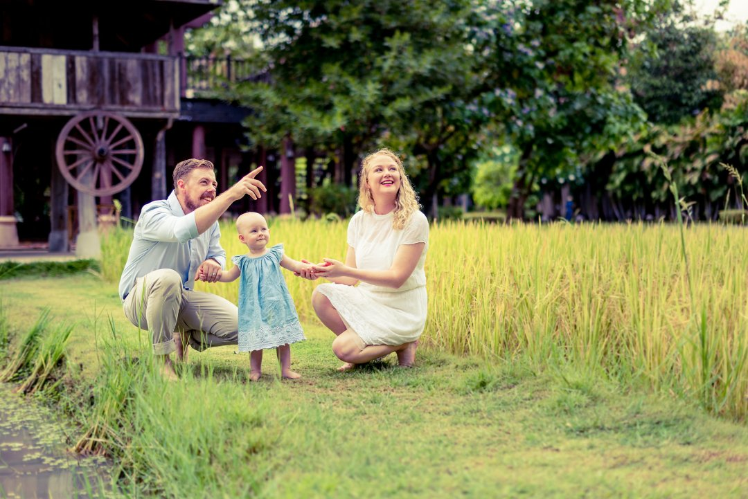 Family Photo Session at Siripanna Villa Resort & Spa