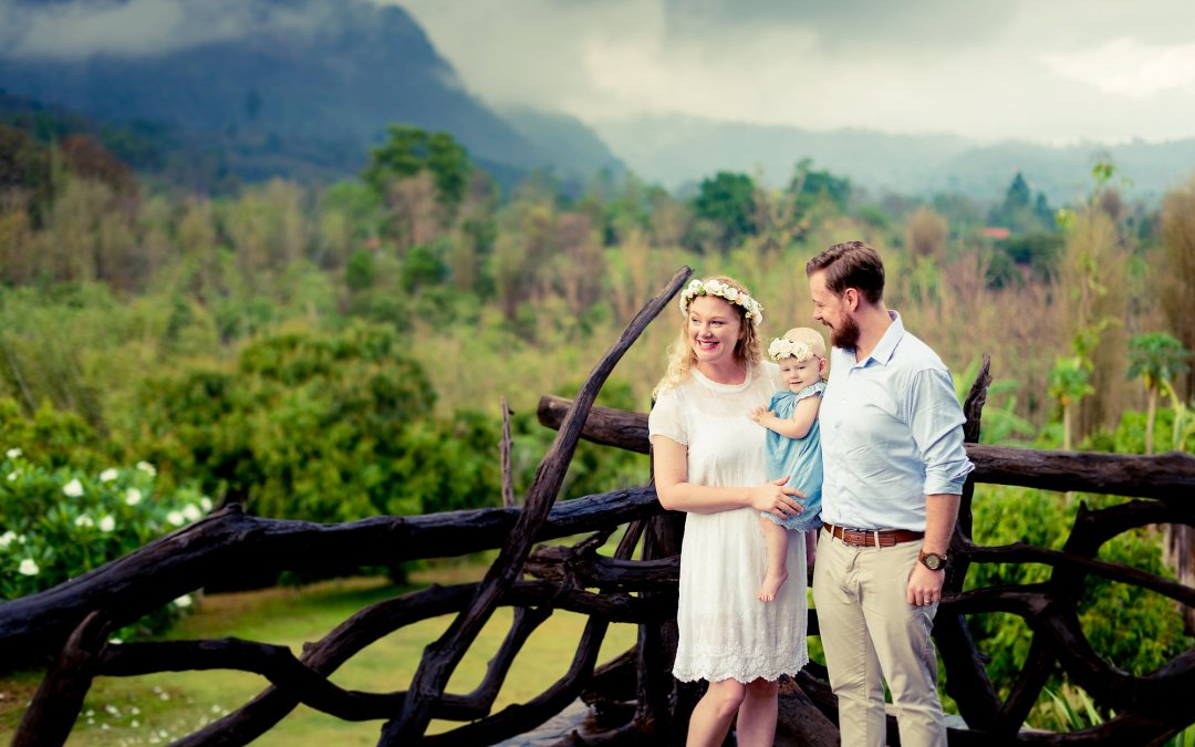 Photo of the Day | Family Photo Shoot at Villa Doi Luang Reserve Chiang Dao