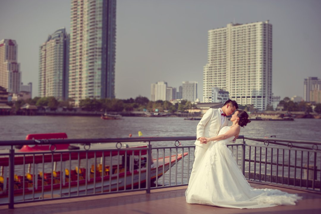 Pre-Wedding @ Asiatique The Riverfront | Bangkok Wedding Photography