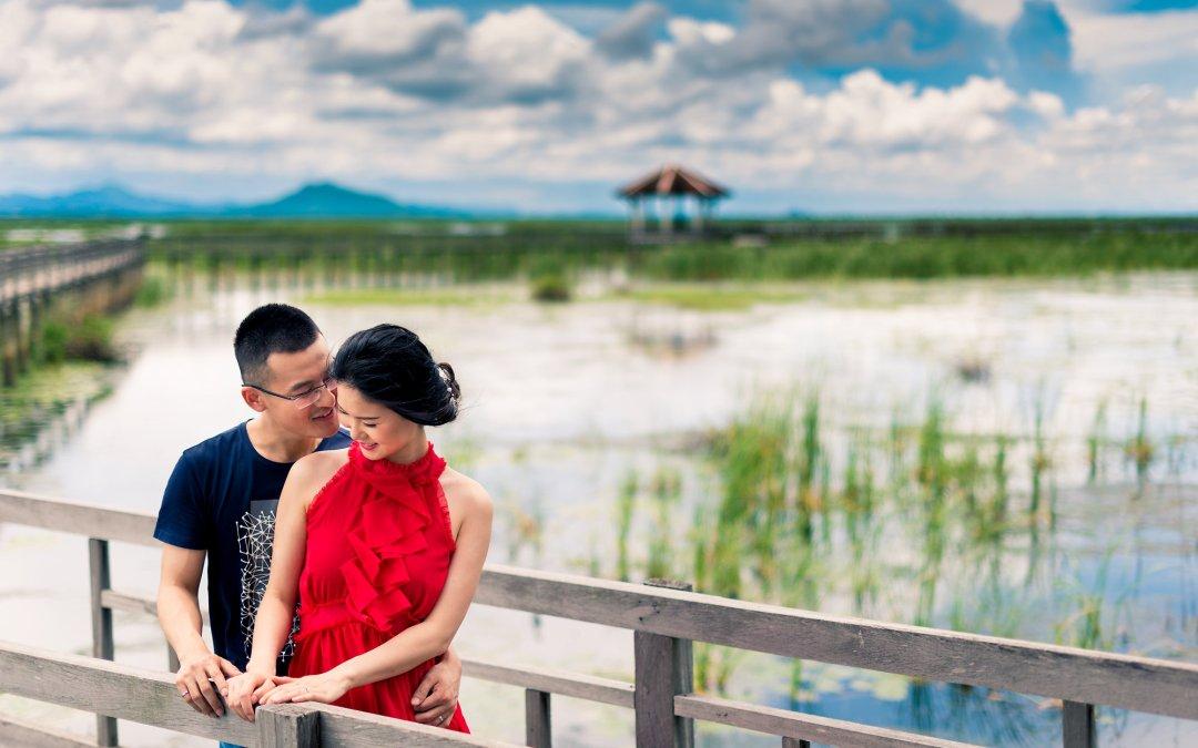 PreWedding at Khao Sam Roi Yot & Hua Hin Beach | ภาพคู่แต่งงาน พรีเวดดิ้ง ที่ เขาสามร้อยยอด และ ชายหาดหัวหิน