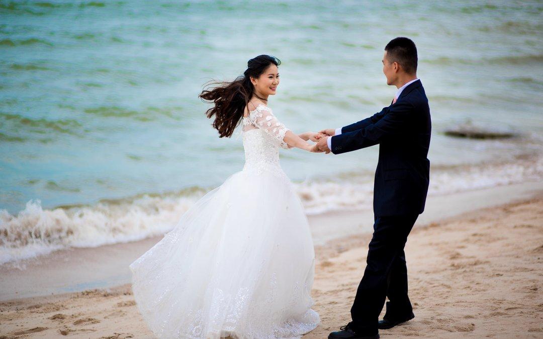 Photo of the Day | Hua Hin Beach Pre-Wedding of Jojo & Richard