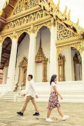 The Grand Palace Bangkok Thailand Wedding Photography