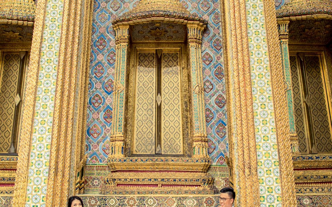 Photo of the Day | The Grand Palace Bangkok Thailand Pre-Wedding Photography
