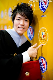 Assumption University Commencement at Queen Sirikit National Convention Center in Bangkok, Thailand.