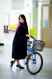 Fern's Commencement Rehearsal at Srinakharinwirot University in Bangkok, Thailand.