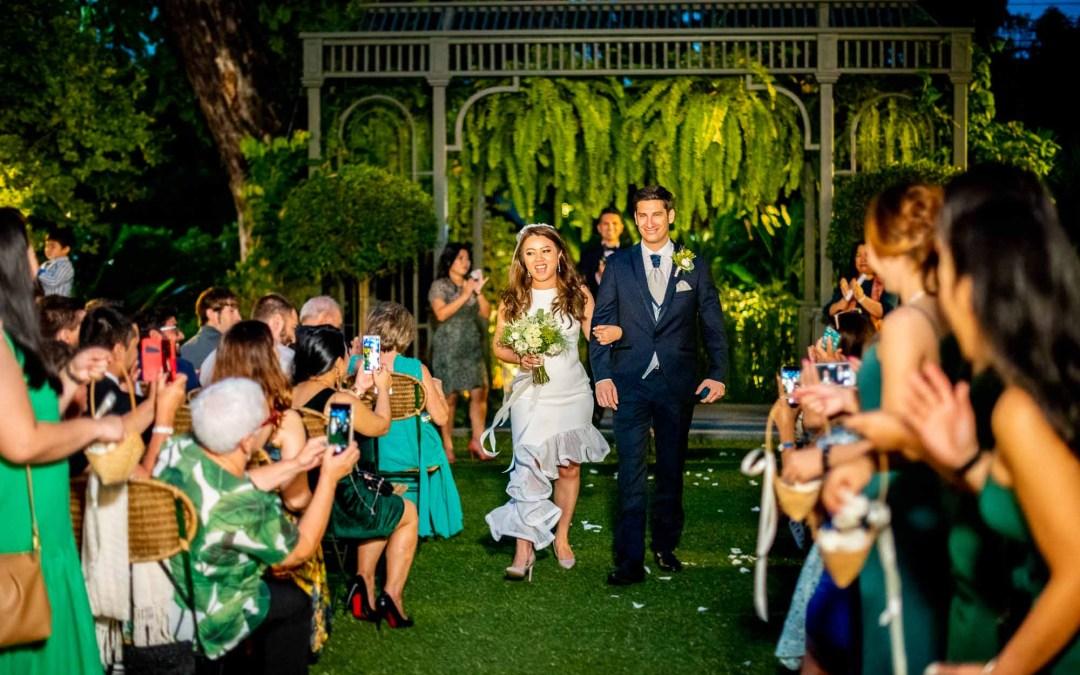 The Botanical House Wedding | ภาพงานแต่งงานมงคลสมรสช่วงเย็นที่ The Botanical House