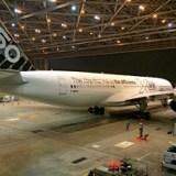エアバス350には帝人製炭素繊維が使われている