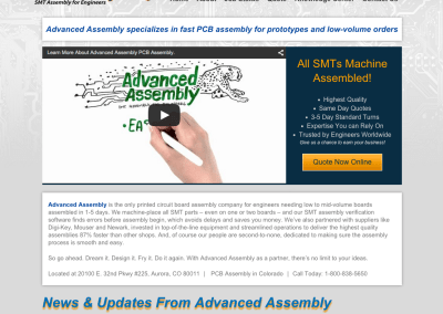 Advanced Assembly