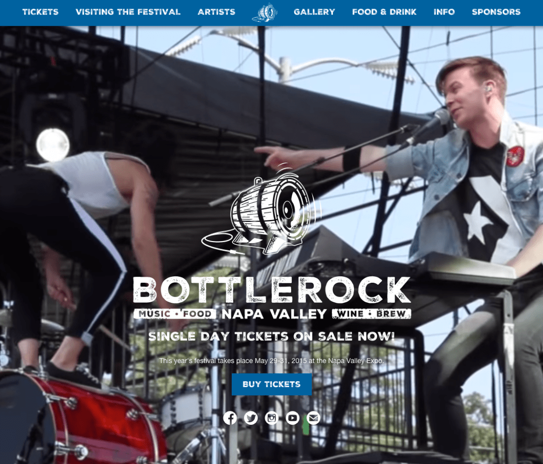 BottleRock Napa Valley Website Link