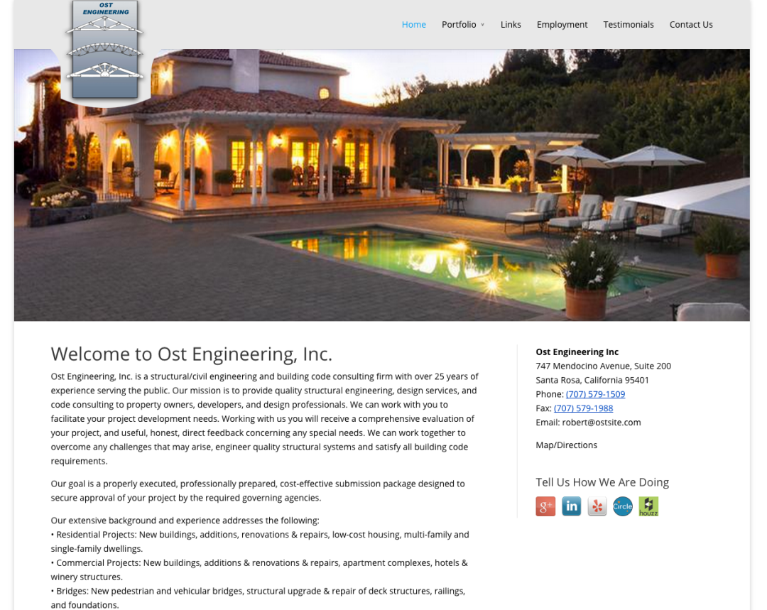 Ost Engineering, Inc. Website