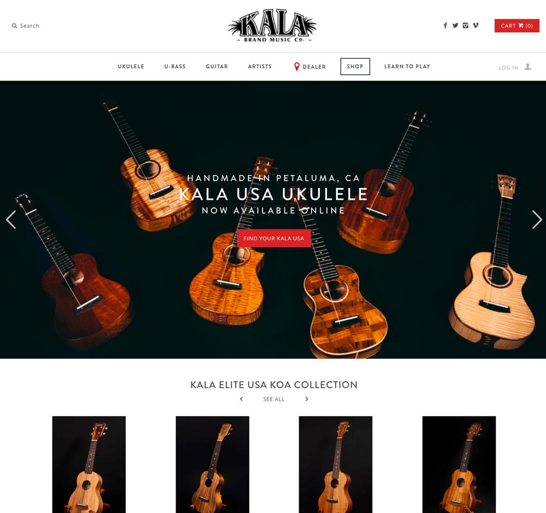 Kala Brand Website Link