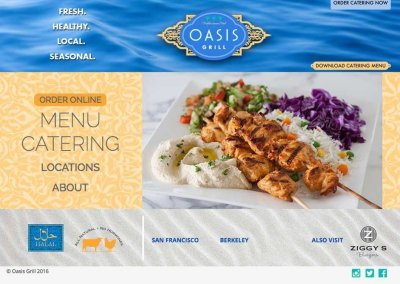 Oasis Grill – San Francisco/Berkeley
